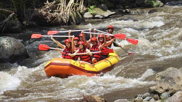 ATV Ride with Ayung Rafting Spa Bali tour