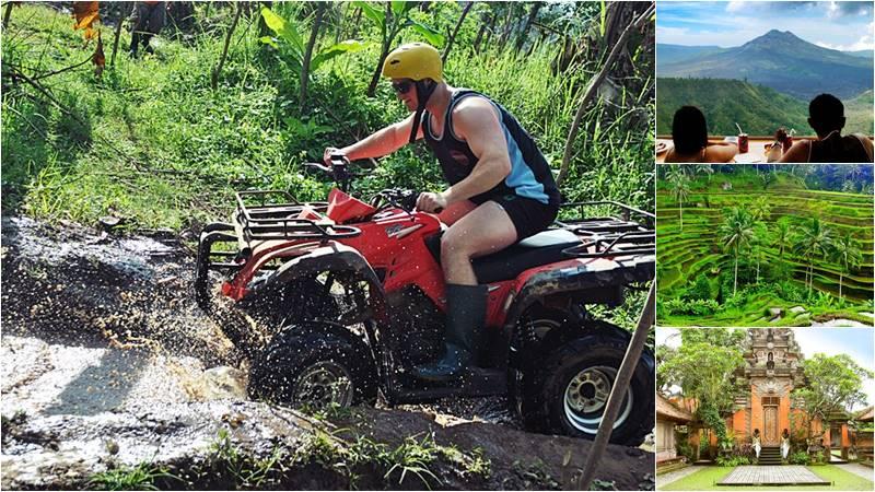 ATV Ride + Volcano Ubud Bali Tour