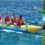 Water Sports + Kintamani Volcano, Ubud Bali Tour