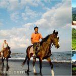 Horse Riding + Volcano, Ubud Bali Tour