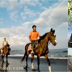 Horse Riding + Tanah Lot Temple Bali Tour