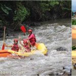 Rafting + Uluwatu Cliff Temple Bali Tour