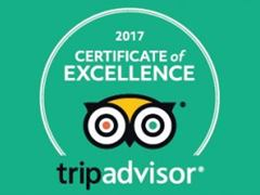 certificate of excellence 2018 - Bali Magic Tour