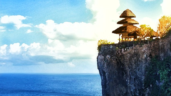 ATV Ride with Uluwatu Cliff Temple Bali tour